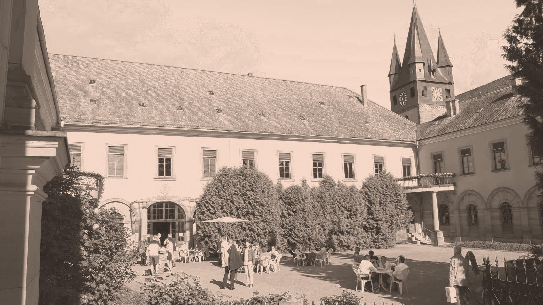 Degustation im Schloss