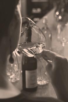 Weisswein Degustieren in der Eventlocation