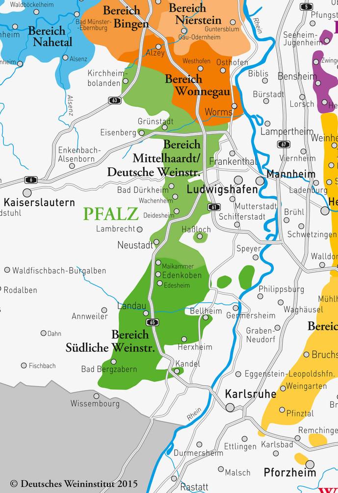 Deutsche Weine aus Pfalz
