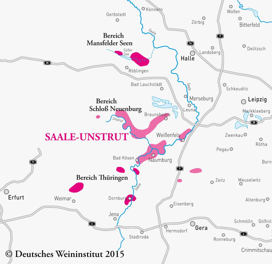 Deutscher Wein aus Saale-Unstrut