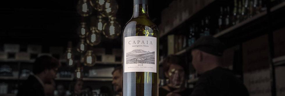 Der Capaia Sauvignon Blanc aus Südafrika ist Rebsorten typisch und passt zu verschiedensten Gelegenheiten.