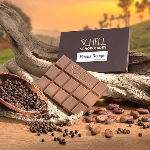 Schokolade Papua rouge Schokoladenmanufaktur Schell Wein und Schokolade