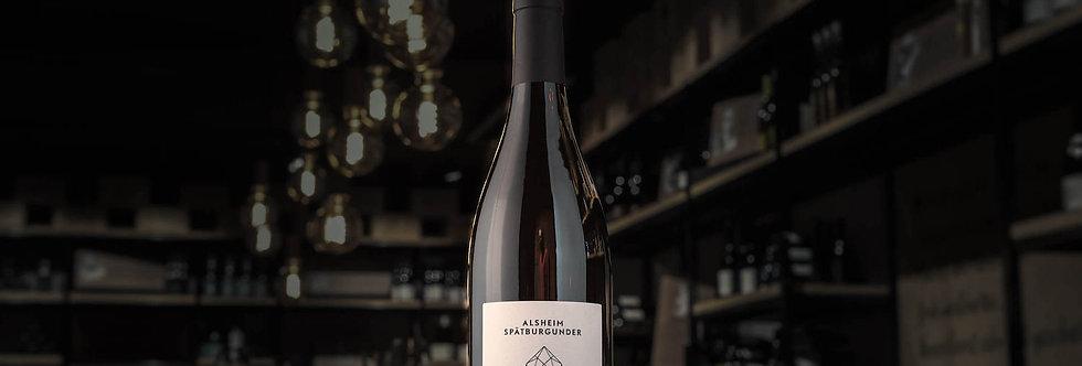 Der Alsheim Spätburgunder ist ein Rotwein von Juliane Eller von Juwel Weine.
