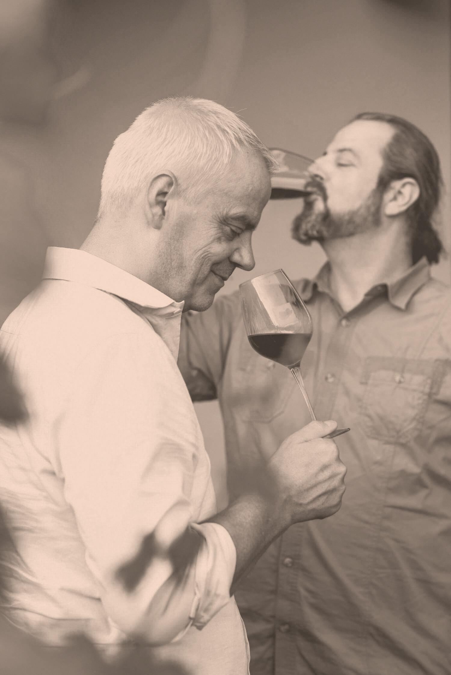 Degustation der Weine von Albert Mathier