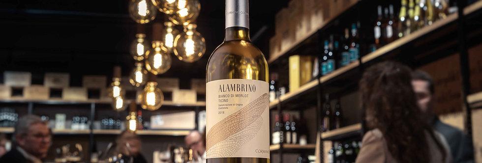Alambrino Bianco di Merlot Cormano Vini Tessin