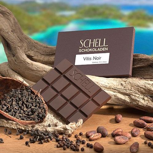 Schokolade Vitis Noir Schokoladenmanufaktur Schell Wein und Schokolade