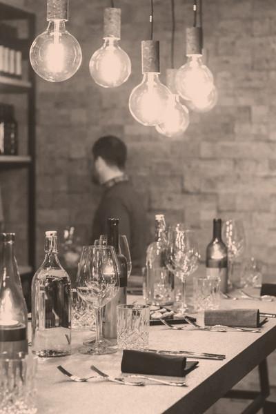 Event in der Weinhandlung und Vinothek in Luzern