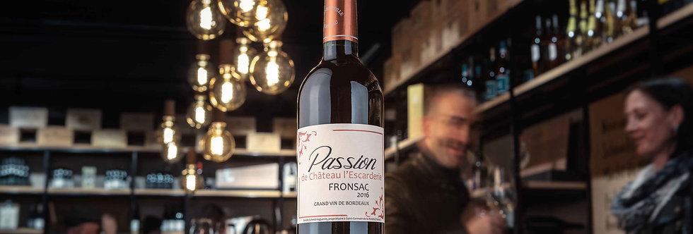 Passion de l'Escarderie Bio Bordeaux Fronsac