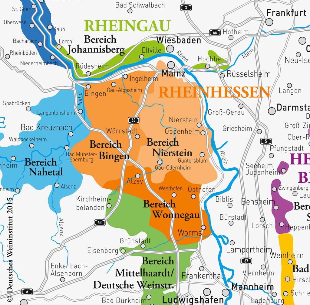 Deutscher Wein aus Rheinhessen