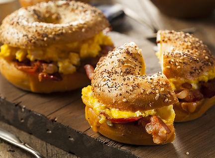 Hearty Breakfast Sandwich On A Bagel.jpg