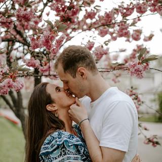 Megan Hanson + Thad Levine