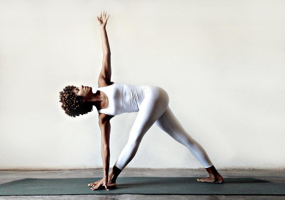 Yoga Con Lidith. Clases online y presenciales: Perinatal, Forrest y Vinyasa. Parivrtta Trikonasana