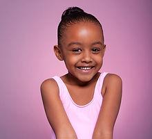 Jeune danseuse de ballet