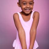 Unga balettdansör