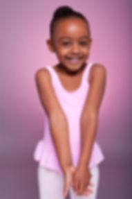 Ballet Dancing child