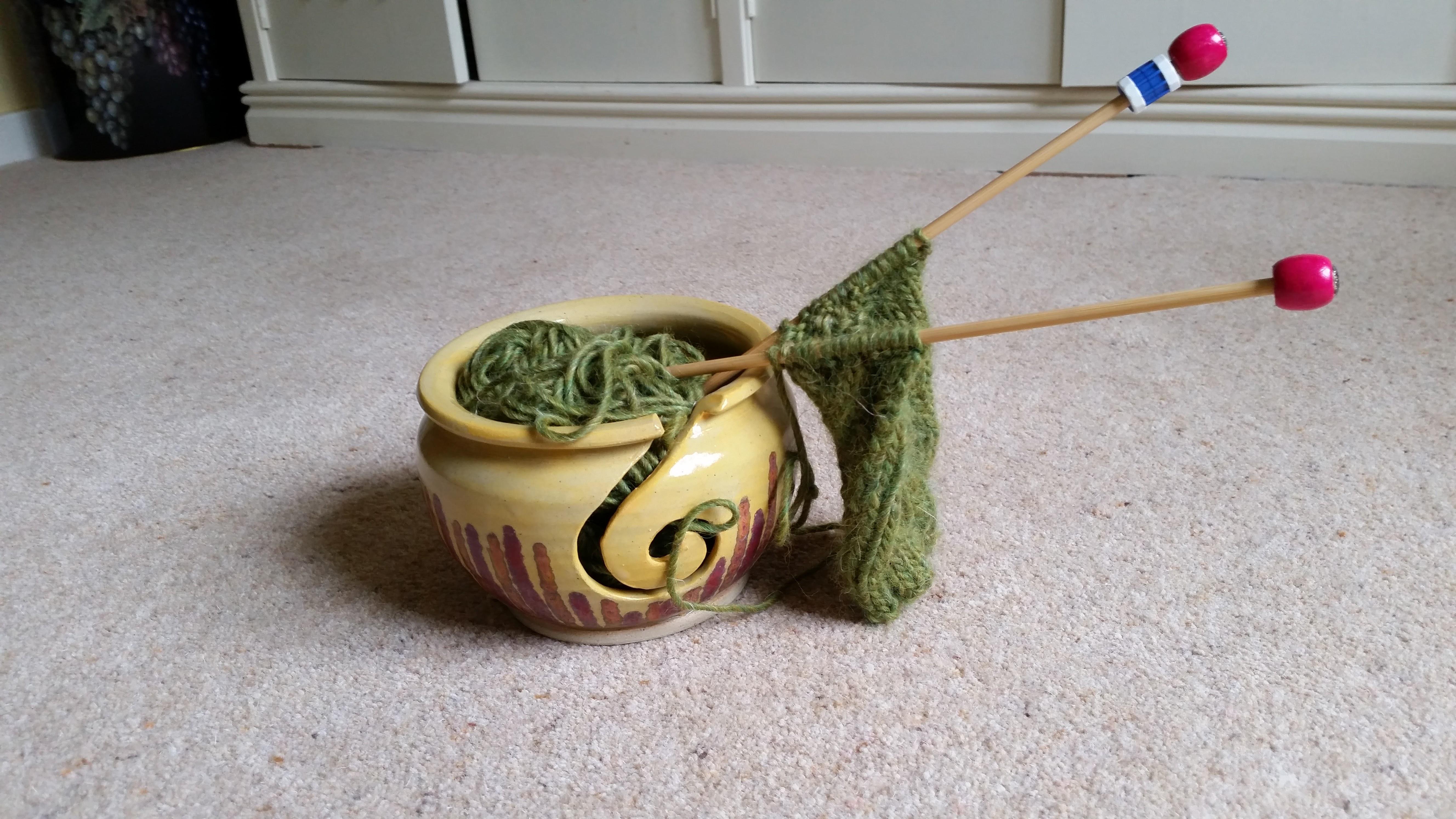 Knitting 1