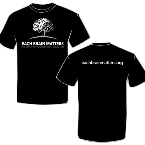 Each Brain Matters t-shirt