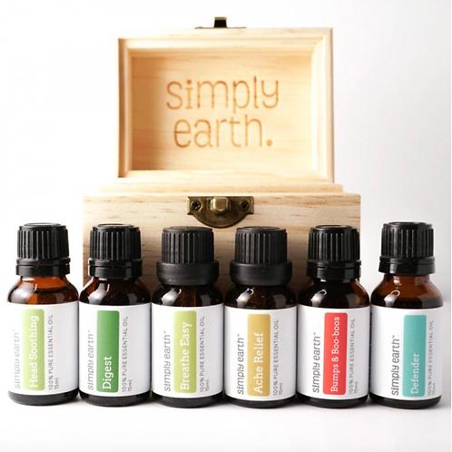 Wellness Boxed Set (6) Essential Blends
