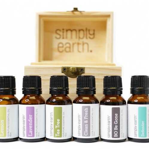 Cleaning Boxed Set (6) Essential Oils