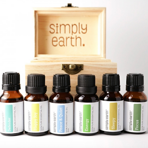 Boxed Set (6) Essential Oil Blends