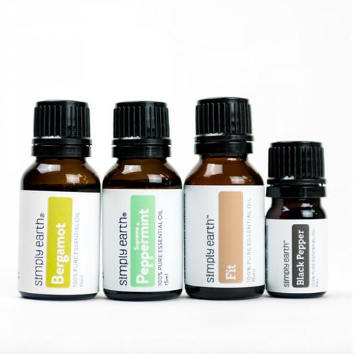 Fitness Set (4) Essential Oils