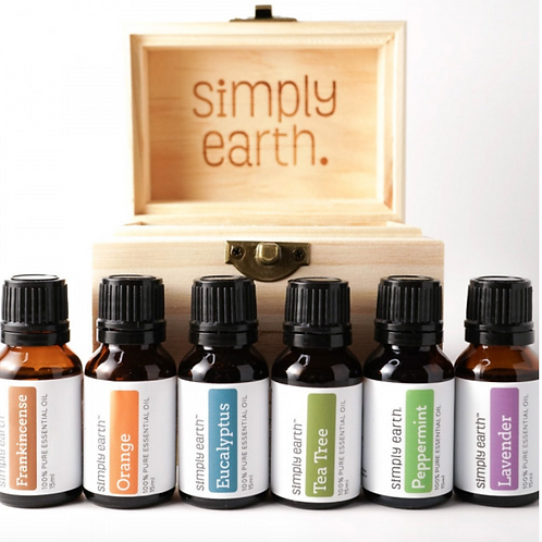 Boxed Set (6) Single Essential Oils