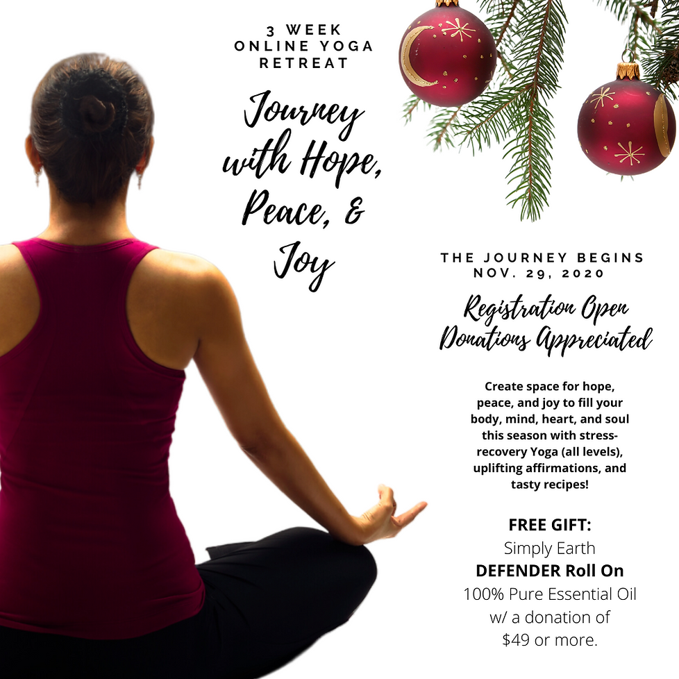 21 daY Online Holiday YOGA Retreat Begin