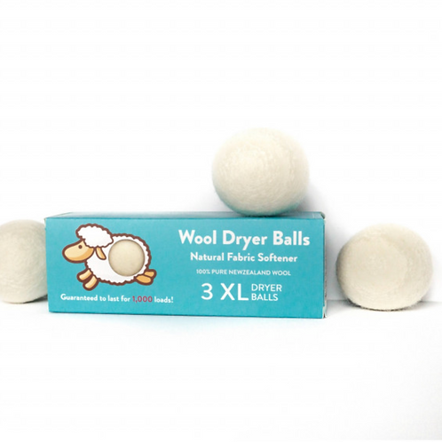 Wool Dryer Balls (3 XL)