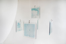 Sleep: Polaroid Emulsion Lifts