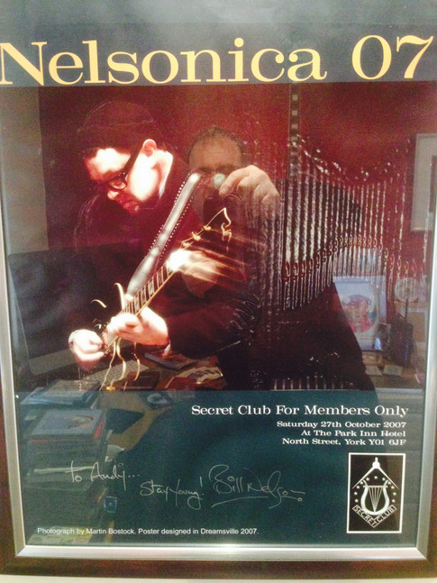 Signed Nelsonica 07 poster