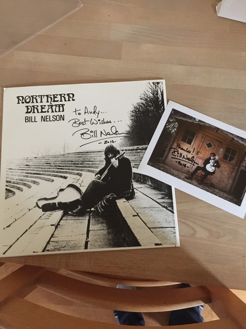 Signed Northern Dream album