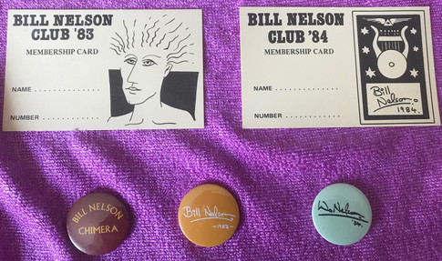 Fan club membership cards & badges