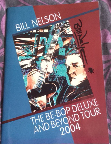 Tour programme from 2004