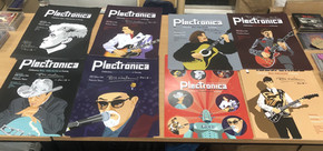 Signed Plectronica posters