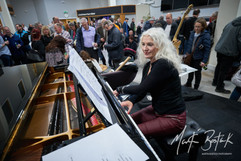 Pre-show piano