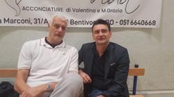 Mark Padellini con Gus Binelli