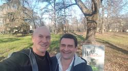 Mark Padellini con Franco Bertoli