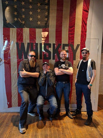 Derelicts at whiskey event