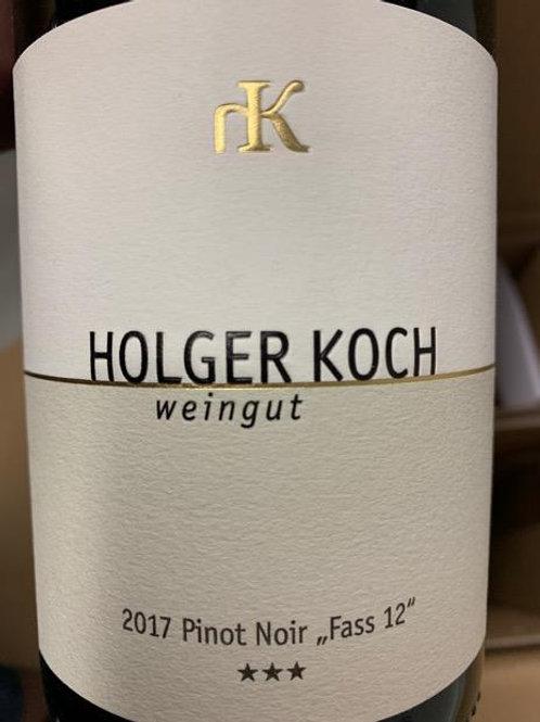 Red Wine: Baden 2017, Pinot Noir, Weingut Holger Koch