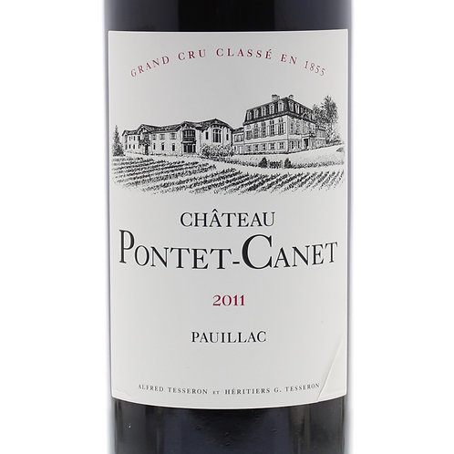 Red Wine: Pauillac Château Pontet-Canet 2011