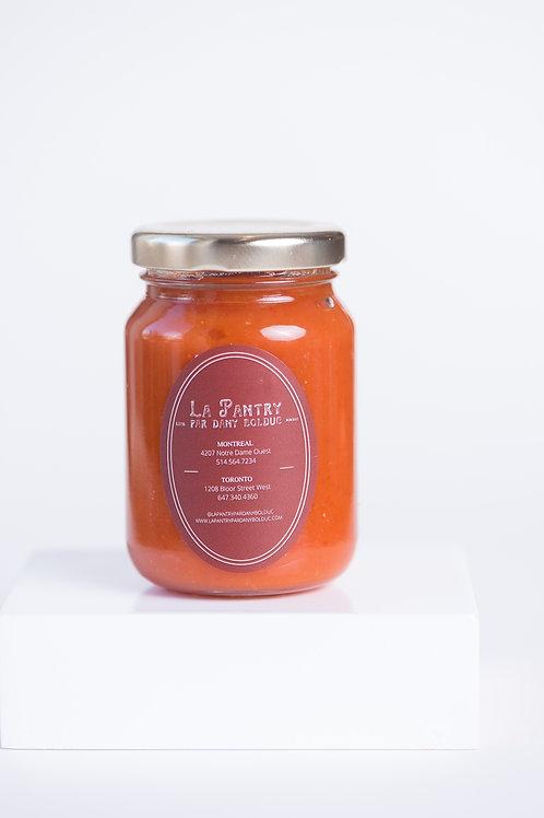 Sauce Épicée à la Nectarine