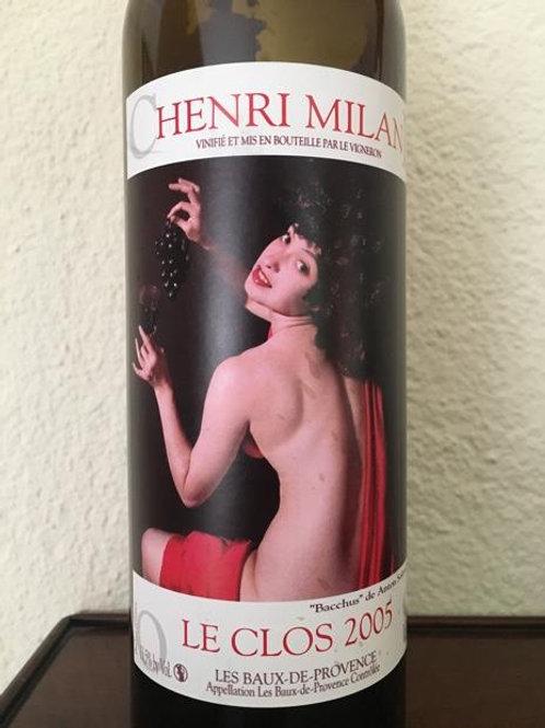 Red Wine:  Baux de Provence Henri Milan Le Clos 2005 Magnum