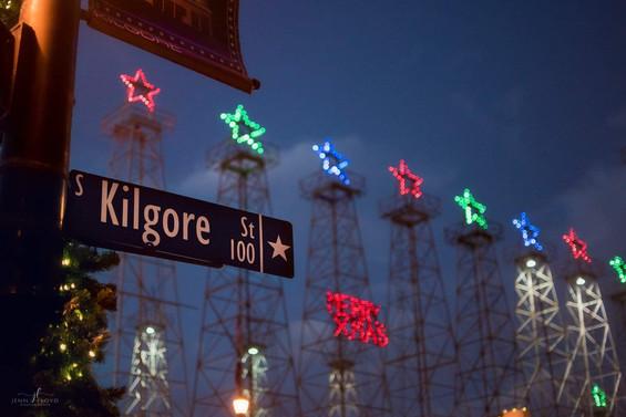 Kilgore St at Night
