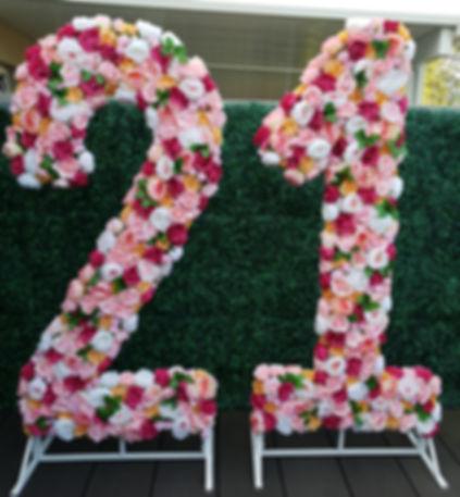 Flower Numbers 21