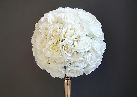 White Flower Ball