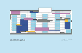 HUE reflected ceiling plan