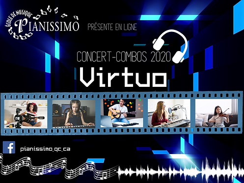DVD Concert-Combos VIRTUO - Commande