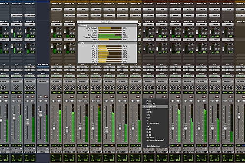 Mixing per song