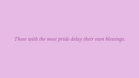 Pride delays blessings.jpg