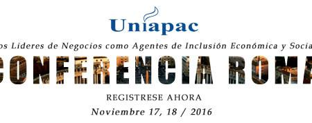 CONFERENCIA INTERNACIONAL DE UNIAPAC EN EL VATICANO Regístrese ahora